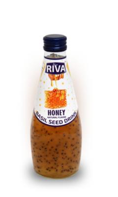 "Basil seed drink Honey flavor ""Напиток Семена базилика с ароматом меда"" 290 мл"