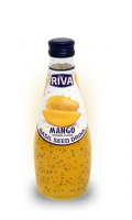 "Basil seed drink Mango flavor ""Напиток Семена базилика с ароматом манго"" 290мл"