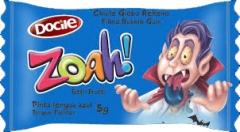 "Docile ZOAH! Жев. резинка ""Blue Tongue Painter Tutti-Frutti"" 5гр"