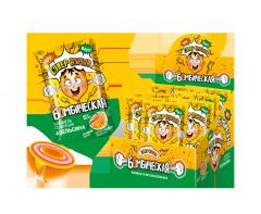 Карамель леденцовая Бомбическая со вкусом апельсина 15 гр