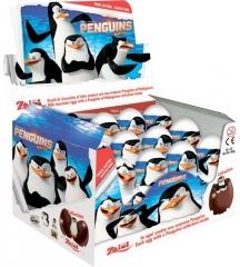 """Шоколадное яйцо с сюрпризом """"Пингвины"""" 20 гр"""