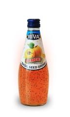 "Basil seed drink Apricot flavor ""Напиток Семена базилика с ароматом абрикоса"" 290мл"