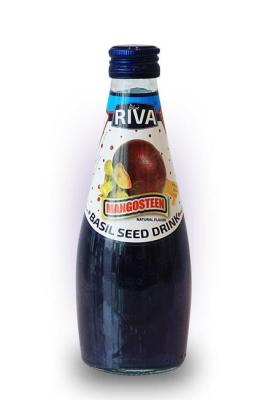 "Basil seed drink Mangosteen flavor ""Напиток Семена базилика с ароматом мангустин"" 290 мл"