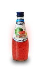 "Basil seed drink Watermelon flavor ""Напиток Семена базилика с ароматом арбуза"""