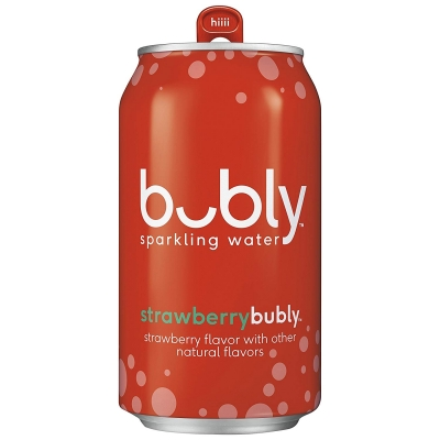 Напиток газированный BUBLY Strawberry 0,355 ml