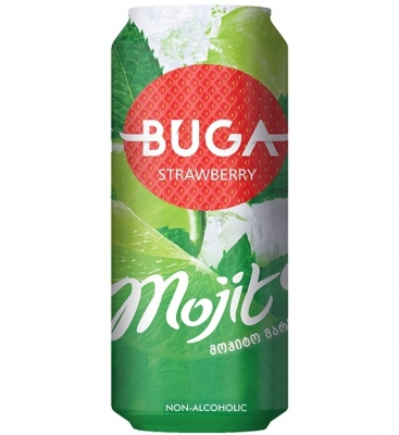 Buga Mojito Strawberry 330ml