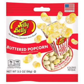 Jelly Belly Buttered Popcorn (99 грамм)