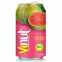 Напиток VINUT со вкусом розовой гуавы 330мл