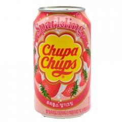Напиток газированный Chupa Chups Sparkling Strawberry 345 мл