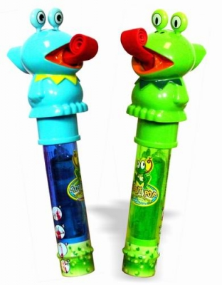 Kidsmania Ribbit Pop Lollipop Леденец+Свисток 11гр
