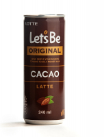 Кофе Let's be CACAO Latte 240 мл