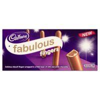 Cadbury Fabulous Fingers 110g