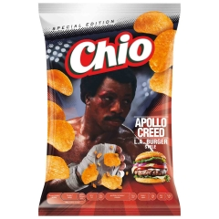 Чипсы Chio Chips Apollo Creed L.A. Burger Style 150g