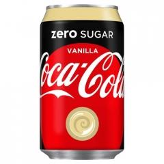 Coca-cola Vanilla ZERO 330ml ж/б