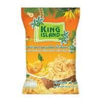 Кокосовые чипсы KING ISLAND в сиропе манго (40 грамм)