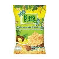 Кокосовые чипсы KING ISLAND в сиропе ананас (40 грамм)