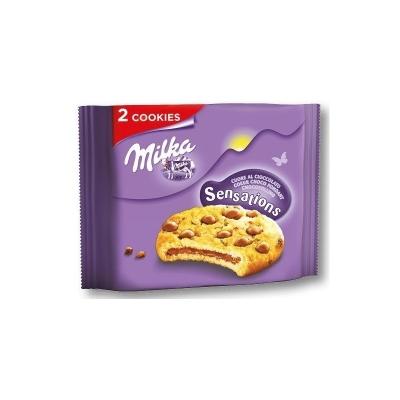 Milka Sensations печенье с шоколадной начинкой 52 гр