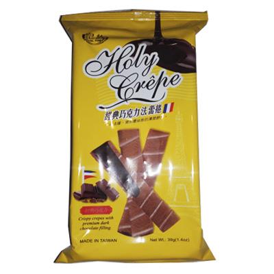 Криспи Крепы с Черным шоколадом 39 гр