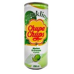 Напиток газированный Chupa Chups Melon cream (Дыня) 250мл