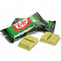 Kit Kat со вкусом зеленого чая