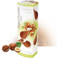 Шоколадные чипсы Belgian Chocolate Thins Hazelnut 80гр