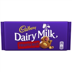 Шоколад Cadbury Dairy Milk Fruit&Nut 200 гр