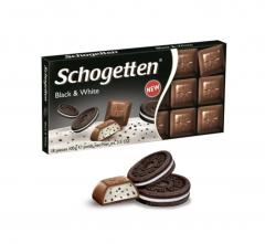 "Schogetten Молочный шоколад ""Сливки и Какао"" 100гр"