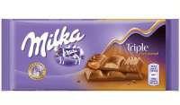 Шоколад Milka Triple Caramel
