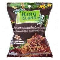 Кокосовые чипсы KING ISLAND с шоколадом, 40 г