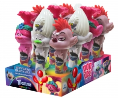 Тролли игрушка-хлопушка 10гр