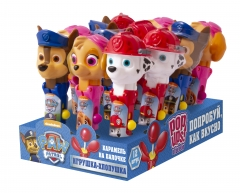 Paw Patrol игрушка-хлопушка с конфетами 10гр