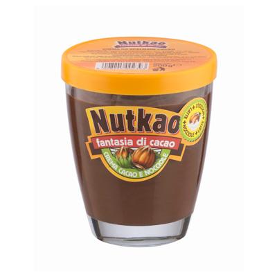 Шоколадная паста Nutkao Glass Domino Fantasia Cacao (200 грамм)