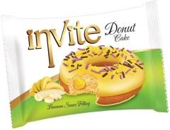 Пончик DONAT INVITE (банановая начинка) 40 гр