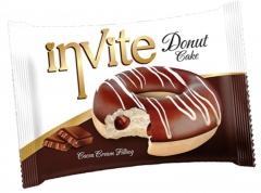 Пончик DONAT INVITE (шоколадная начинка) 40 гр