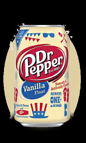 Dr.Pepper Vanilla Float
