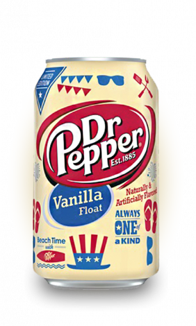 Dr.Pepper Vanilla Float