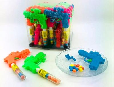 """Сахарное драже """"Канди клаб"""" с игрушкой (Пистолет) 2 гр"""