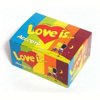 Жевательная резинка Love is (ассорти)