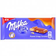 Milka Peanut Crispy Caramel 90 гр