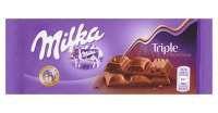 Шоколад Milka Triple Choco Cocoa