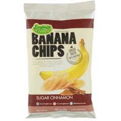 Банановые Чипсы Everything Banana с Корицей 80гр