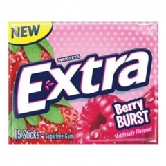 Wrigley's Extra Berry Burst