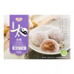 ROYAL FAMILY Tai Mochi Taro Mochi With Coconut Shred 210g