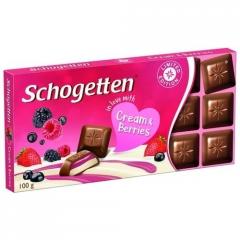 Шоколад Schogetten Cream & Berrys 100 г