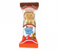 kinder Happy Hippo какао bisquit 20.7g