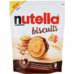 Бисквитное печенье Нутелла 304гр