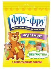 Жевательный мармелад Фру-Фру Медвежата 30гр
