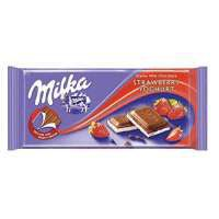 Шоколад Milka Strawberry Yoghurt  (100 грамм)