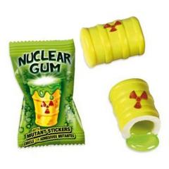 """Жевательная резинка """"Гигант Ядерный взрыв"""" лимон-лайм 14гр"""