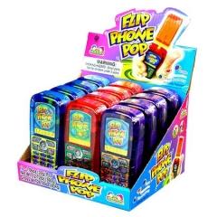 Kidsmania Леденецовая карамель с игрушкой Телефон 30гр